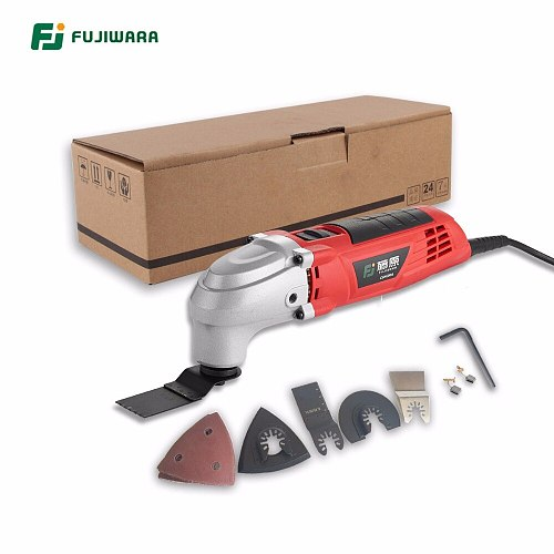 FUJIWARA 220V 50HZ Electric Oscillating Multi-Tools 6-Speed Multifunction  Electrical Shovel  Machine Trimmer Cutting Machine