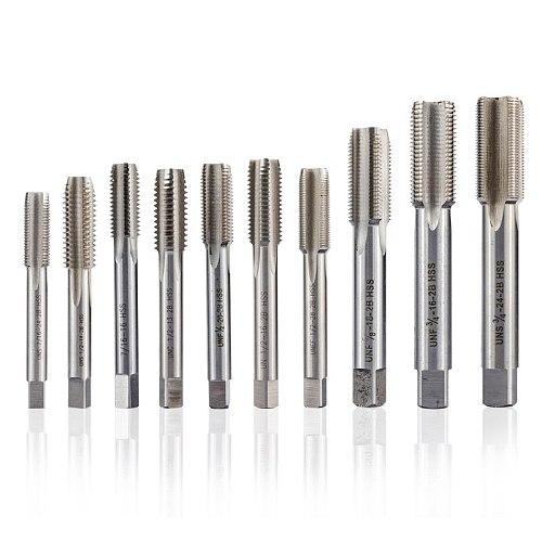 CMCP 1pc HSS 5/16 3/8 7/16 1/2 5/8 3/4- 14 16 18 20 24 32 UNC UNEF UNF UNS Right Hand Thread Tap Machine Screw Tap Drill Bit