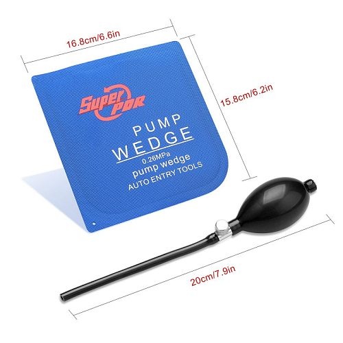 PDR Locksmith Supplies Pump Wedge Auto Entry Tool Locksmith Tools Air Wedge Lock Opening Tools Lock Pick Set for Open door
