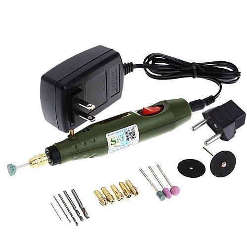 110V Power Tools Engraving Pen Mini Electric Grinder Polishing Machine Small Manual Drilling Machine Power Tools Us Plug