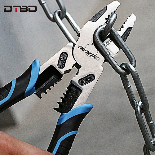 6''8''9'' Multifunction Pliers Set Combination Pliers Stripper/Crimper/Cutter Heavy Duty Wire Pliers Diagonal Pliers Hand Tools