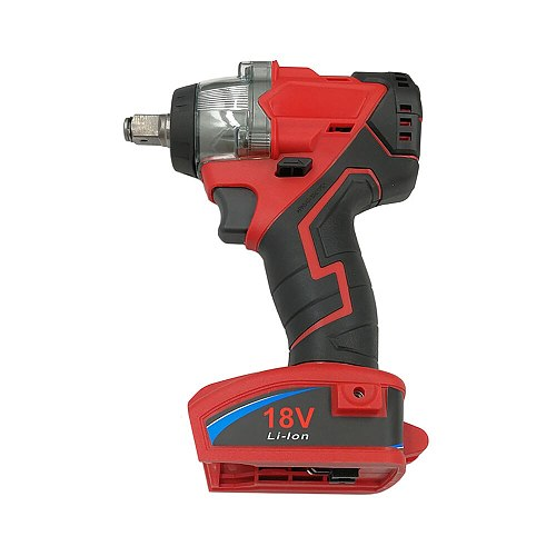 Trechargeable Brushless Impact Wrench Screwdriver Electric Power Tool Can Use for Milwaukee M18 18V Lithium Battery