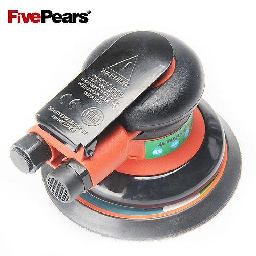 FivePears Pneumatic Sanding Machine 125MM 5  Eccentric 5MM Random Orbital Air Sander Pneumatic Tools