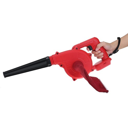 Cordless Electric Air Blower Handheld Leaf Blower & Suction Computer Dust Collector Cleaner Tool For Makita 18V Li-ion Battery