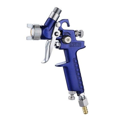 0.8mm/1.0mm Nozzle H-2000 Professional HVLP Spray Gun Mini Air Paint Spray Guns Airbrush For Painting Car Aerograph