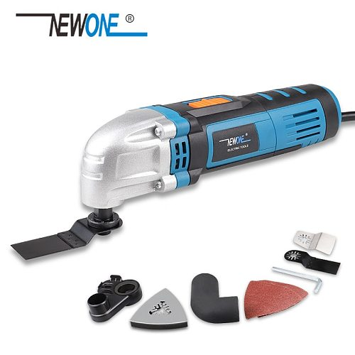 500W 220V Multi-function Oscillating Tool Trimming Cutting Woodworking Machine Multi-Tool Kit Sanding Grinding Grout Removing