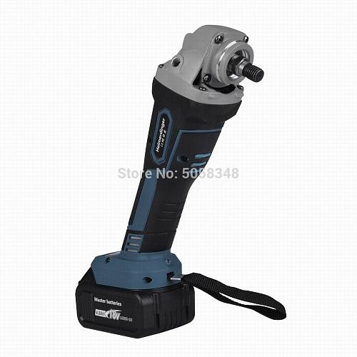 Brushless Cordless Impact Angle Grinder with one 18V 4000mAh lithium ion battery