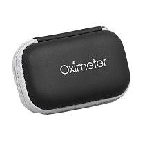 Oximeter Case Portable Fingertip Pulse Oximeter Organizer Easy Carrying EVA Hard Bag for Blood Oxygen Saturation Monitor