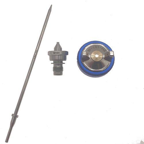 WENXING Spray Gun W101 Hand Manual Spray Gun Nozzle 1.0/1.3/1.5/1.8mm Paint Spray Gun Nozzle Kit Set