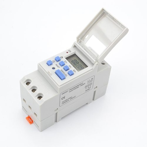 7 Days Programmable Digital Timer Switch Relay Control 220V 230V 6A 10A 16A 20A 25A 30A Electronic Weekly