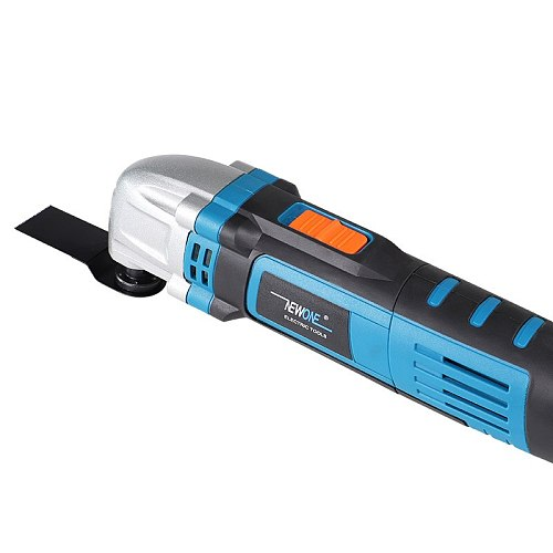 230V Oscillating Tool in 500W Oscillating Multi-Tool With Saw Blades,Variable Speed Function Trimmer Renovation Tool
