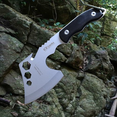 Multifunctional Survival Outdoor Camping Axe Hunting Hatchet Tomahawk Fire Axes Portable Hand Tools axe with White Blade