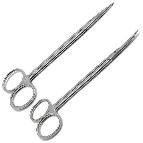 stainless steel Straight and Curved Hemostatic Forceps Stainless Steel Pet Fishing Forceps Medical Dental Surgical Scissors