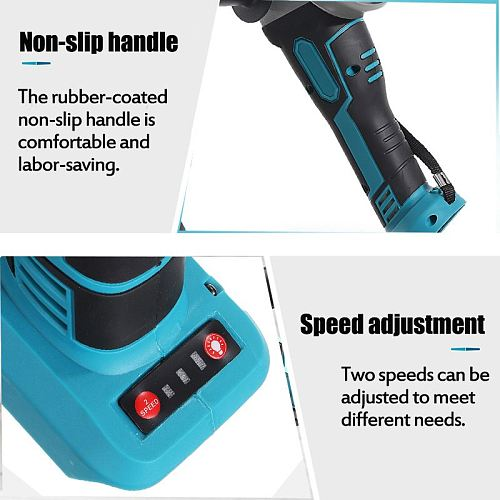 18V 800W 100mm/125mm Brushless Cordless Impact Angle Grinder DIY Power Tool Cutting Machine Polisher Without For Makita Battery