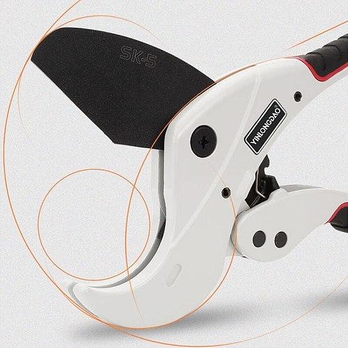 PVC/PPR Pipe Cutter Scissors Cutting Range 36-64mm Scissors Pipe Cutter Ratchet Hose Cutting Hand Tool