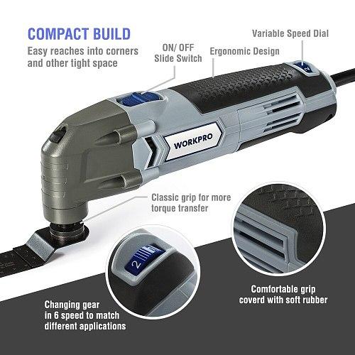 300W Multifunction Power Tools Oscillating Tools EU Plug Home DIY Tools Home Renovation Tools