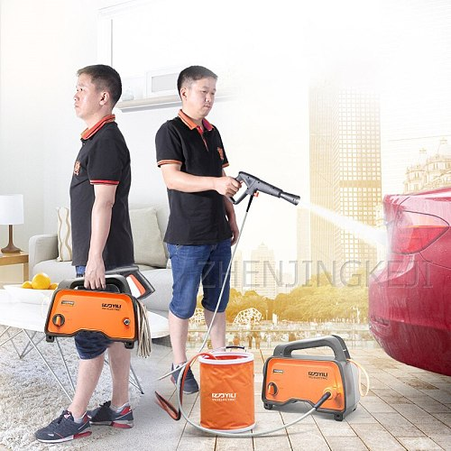 High Pressure Washer Lithium Battery Wireless Washing Machine Flush Pump Portable Water Gun High Power Household Cleaning Tools