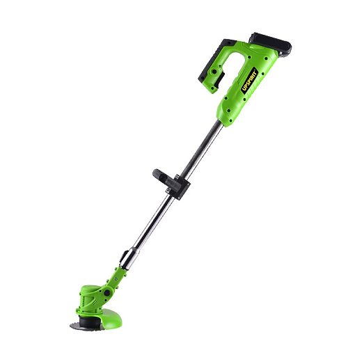 Cross Border Export Electric Mower Lithium Battery Grass Trimmer Weeding Tool Household Multi-functional Garden Lawn Trimmer