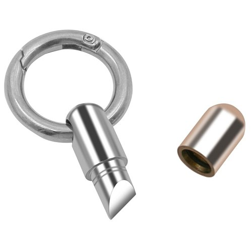 Cutting tool stainless steel multi-function EDC portable mini tool key ring pendant tool capsule knife tiny cutting tool