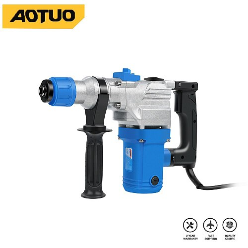 220V 1200W Electric Hammer Multifunctional Two gear 5pcs Accessories High-power industrial electric hammer