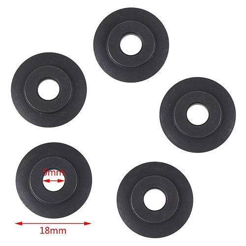 5Pcs/set Cutting Blade Tube Pipe Cutter Blades For Copper Stainless Steel Tube Cutting Shear Circular Wheel Cutting Tools