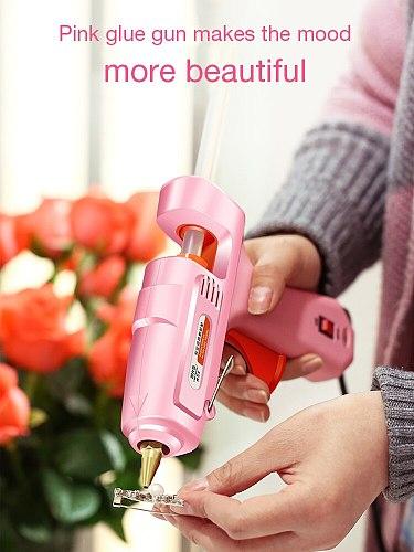 150W Professional Hot Melt Mini Glue Gun Set with  hot glue gun sticks and bag for DIY Repair tools