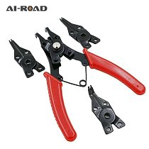 4 IN 1 Multifunctional Snap Ring Pliers Multi Tools Multi Crimp Tool Internal External Ring Remover Retaining Circlip Pliers
