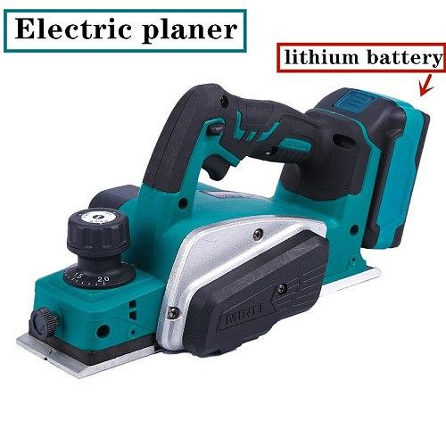 Lithium Electric Planer Industrial Grade Multifunctional Planer Woodworking Portable Press Planer