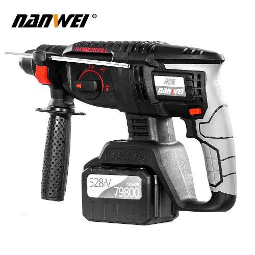 21V electric drill hammer cordless hammer drill sds Rotary Hammer kit on sale