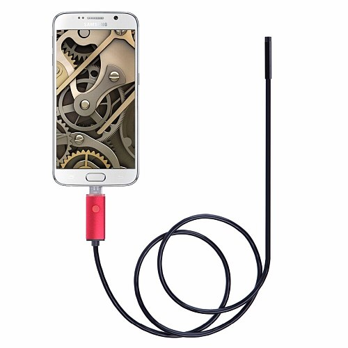 5.5mm USB cable waterproof 6LED Android endoscope 1M 2M 5M 10M endoscopy camera endoscope