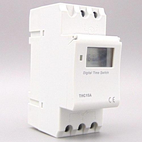Weekly 7 Days Programmable Digital TIME SWITCH Relay Timer Control AC 220V 230V 110V 24V 12V 16A Din Rail Mount