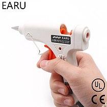 20W Heat Hot Melt Glue Gun Industrial Mini Thermo Electric Heat Temperature Pneumatic DIY Repair Tool EU US Plug AC 110V-220V
