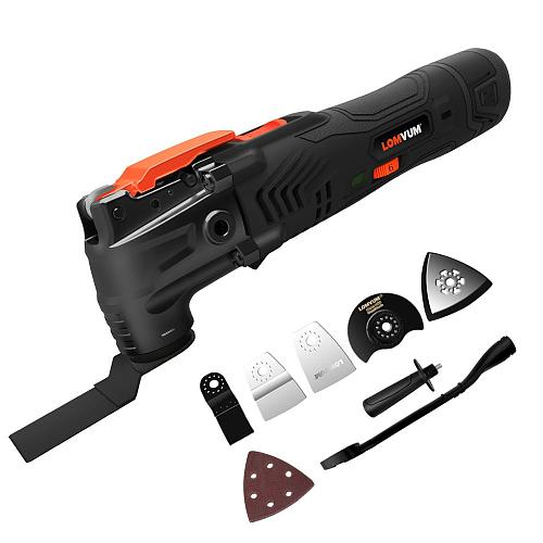 12v Multi-Function Electric Cutter Trimmer Electric Saw Renovator Tool Woodworking Oscillating Tools 300w Multimaster