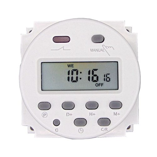timer 220V 110V 24V 12V CN101A Digital LCD Power Timer Programmable Time Switch Relay 16A  CN101
