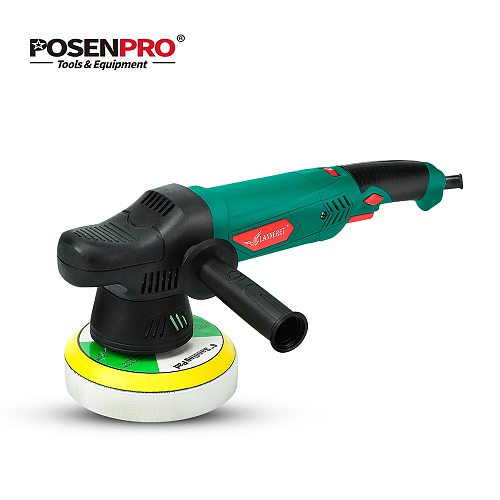 LANNERET 900W 6'' Inches Polishing Pad Variable Speed Electric Dual Action Shock and Polishing Machine Car Polisher Cleaner
