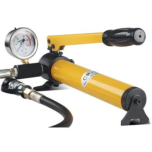 CP-180 Hydraulic Pump  Hand Operated Pump  Hydraulic  Manual Pump with Pressure Gauge