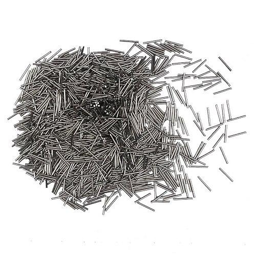 1KG Mini Pins Magnetic Tumbler Polisher tools Stainless Steel Polishing Needles Jewelry Polishing Needles Media