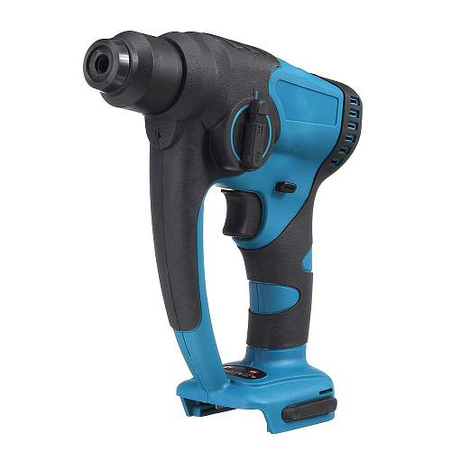 18V Brushless Cordless Rotary Rechargeable Hammer Drill Electric Demolition Hammer Power Impact Drill Adapted To Makita Battery