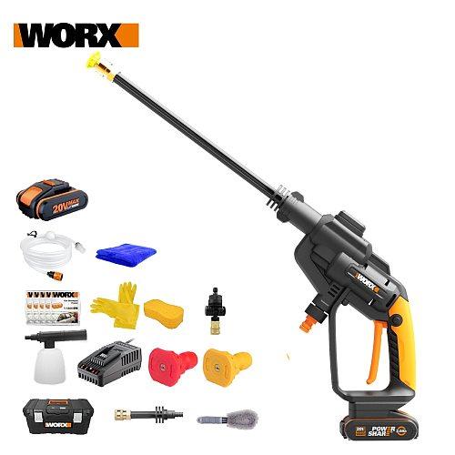 Worx Hydroshot 20V High Pressure Car Washer WG620E.3 Wireless Portable Clean Machine Rechargeable Car Washing Handheld Cleaner