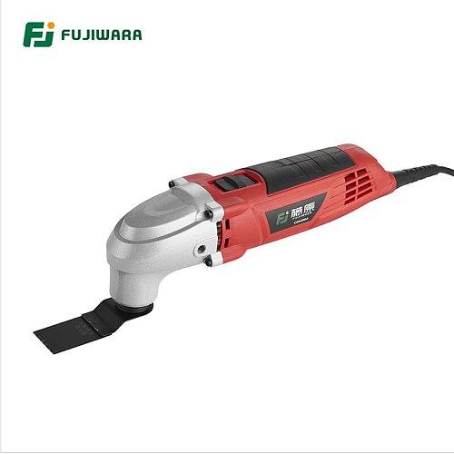 FUJIWARA 220V 50HZ Electric Oscillating Multi-Tools 6-Speed Multifunction  Electrical Shovel  Machine Trimmer Cutting Machine
