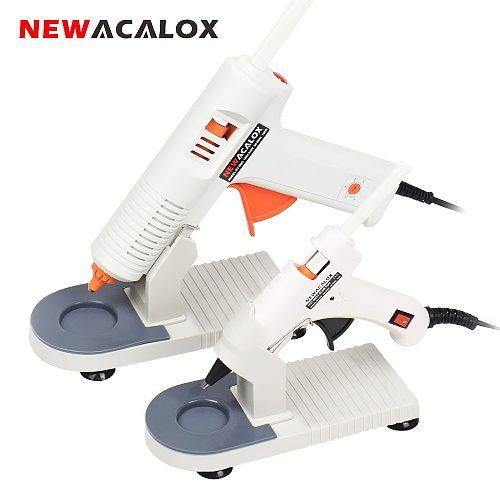 NEWACALOX 20W/150W Glue Gun EU/US 100-240V High Temp Hot Glue Gun 7mm/11mm Hot Melt Glue Sticks Graft Repair Pneumatic DIY Tools