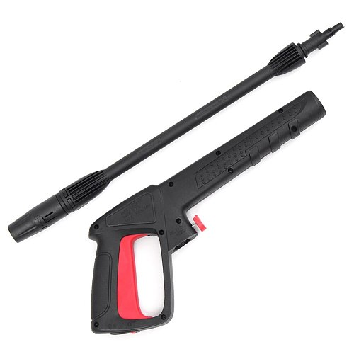 Car Washer High Pressure Home With Extension Rod Handheld Water Spray Cleaning Durable Adjustable Long Yard Garden Portable Tool