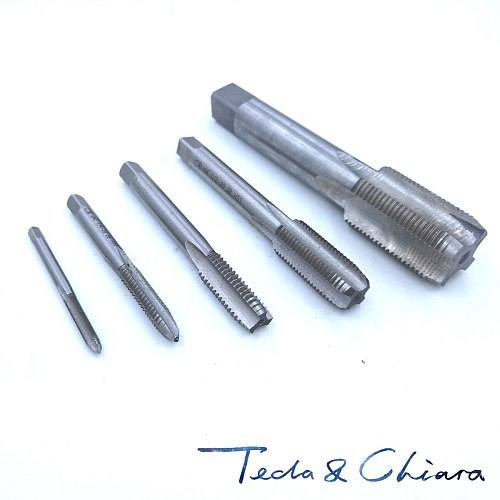 1Pc 1/4 - 20 24 27 28 32 36 40 UNC UNS UNF UNEF Right Hand US Tap Pitch Threading Tools For Mold Machining TPI 1/4