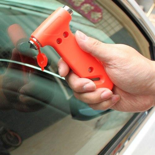 Car Hammer Useful Glass Breaker Hammer Seat Belt Cutter Emergency Safety Life-Saving Tools