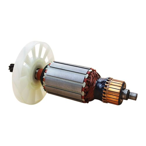 220V Armature Rotor Anchor Motor Suitable for Makita 0810 Replacement 7 Tooth Electric Hammer
