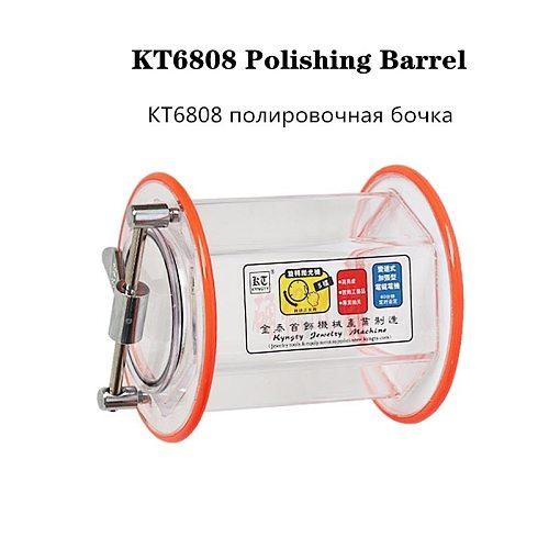 Capacity 3 kg Rotary drum/bucket for KT-6808 tumbler for Polishing machine, Jewelry polishing barrel