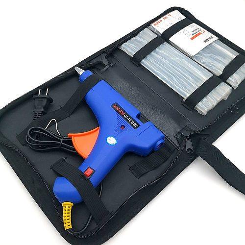 High Temp Mini 20W  Mini Hot Melt Glue Gun with 10 Pcs 7mm 180mm Glue Stick Electric Heat Temperature Tool