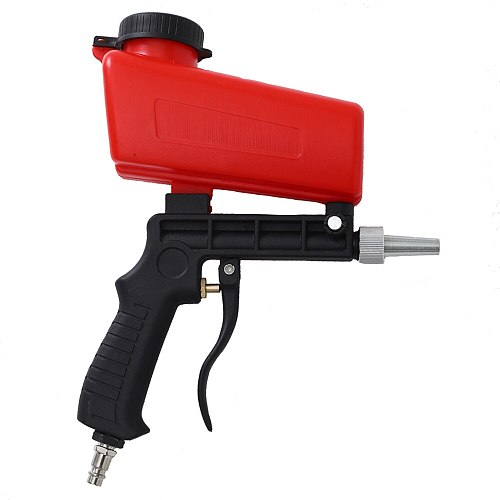 WENXING 90psi Portable Gravity Sandblasting Gun Pneumatic Small Sand Blasting spray gun Adjustable Pneumatic Sandblaster
