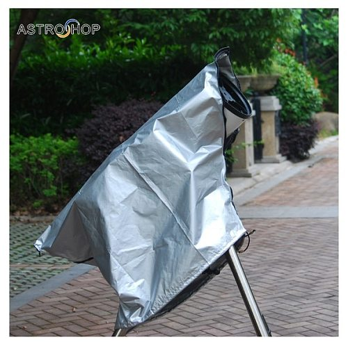 Astronomical telescope dust cover telescope outdoor sun protection anti-dew light damage eclipse observation hood