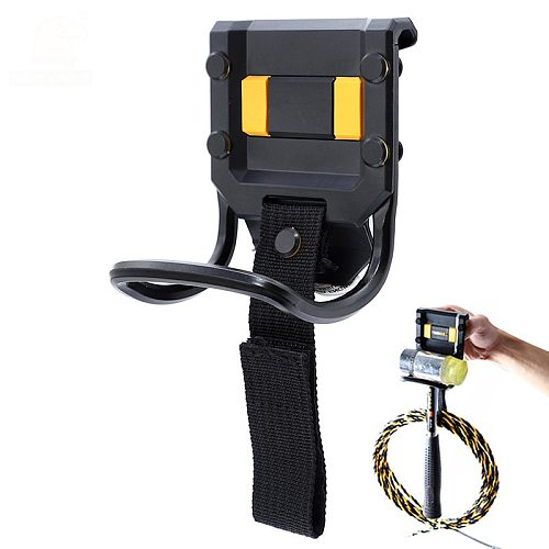 Steel Hammer Tool Holder 100*75mm Hammer Storage Loop Rack Electrician Tool Bag Fit To 0-60mm Tool Belt For Power Cord Wire Mgmt